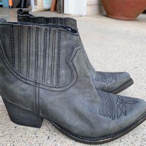 Jeffrey Campbell Black Western Norco Boots Sz